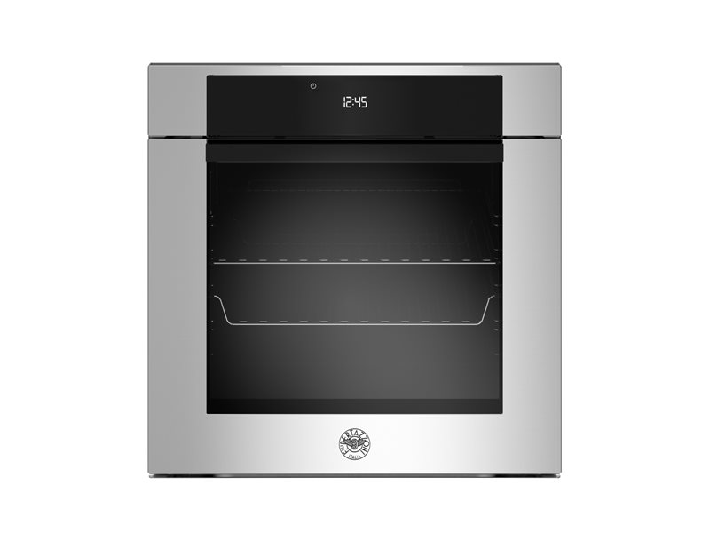 60cm Electric Pyro Built-in oven LCD display | Bertazzoni - Stainless Steel