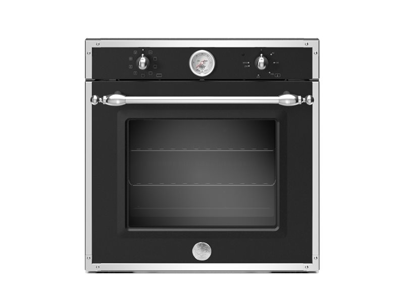 60cm Electric Built-in Oven 9 functions with thermometer | Bertazzoni - Nero Matt