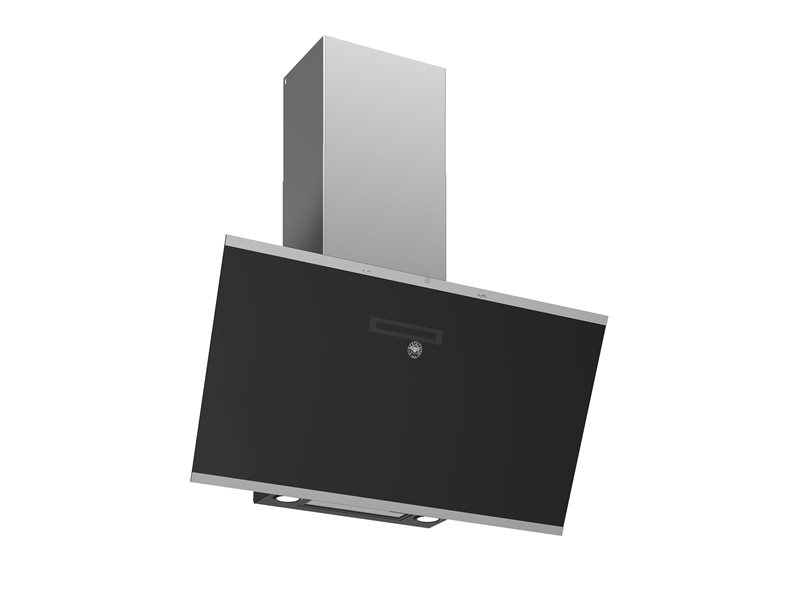 90 cm vertical inclined hood | Bertazzoni - Stainless/Black