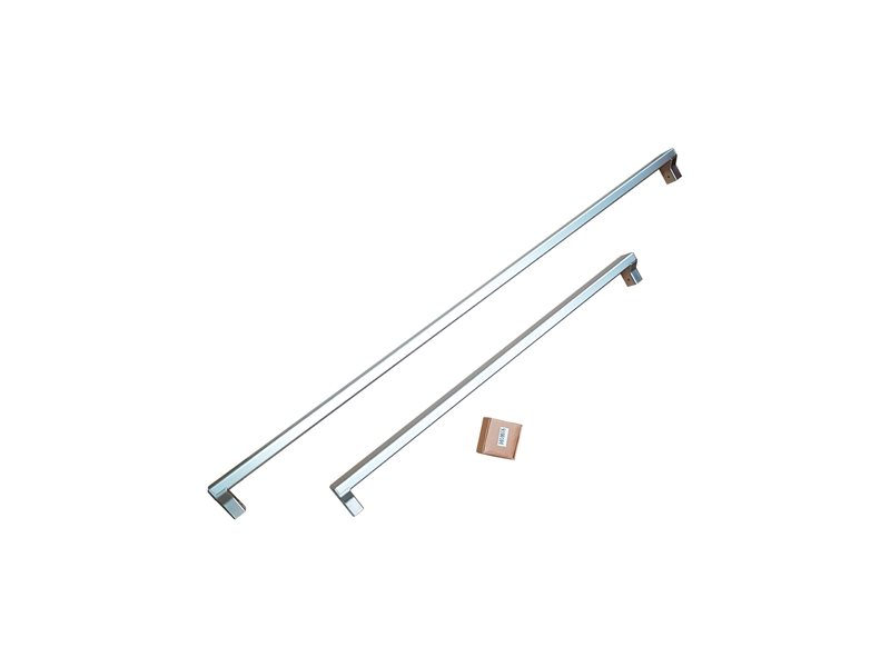 Handle Kit for 75 cm Built-in refrigerators, Cookers Style | Bertazzoni - Stainless Steel
