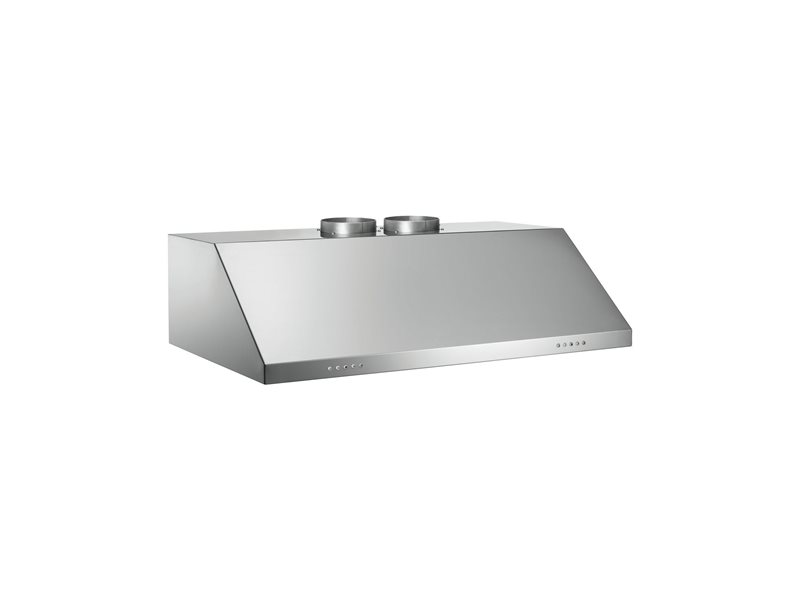 90 Undermount Hood 2 Motors | Bertazzoni - Stainless