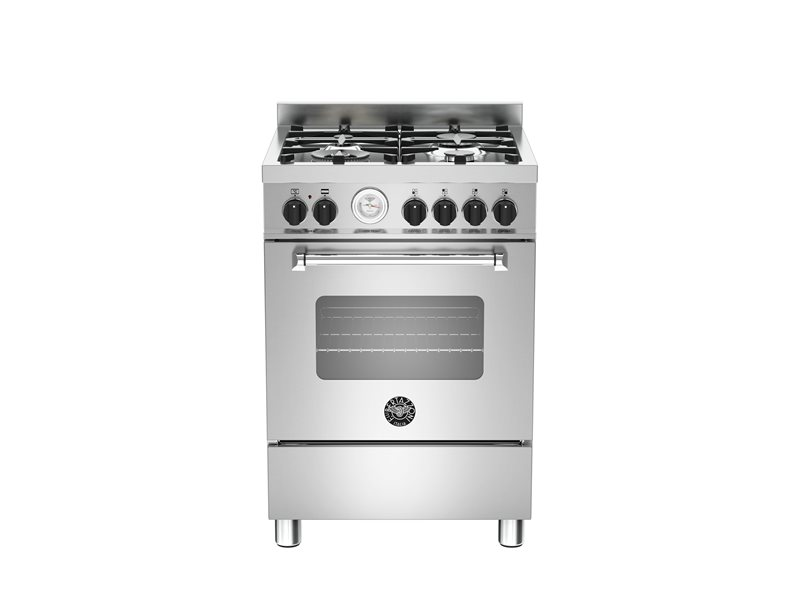60 cm 4-burner electric oven | Bertazzoni - Stainless Steel